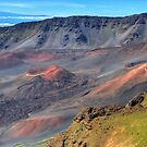 Haleakala Volcanic Lava Cones by JamesA1
