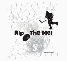 Rip The Net Hockey by SaucyMitts
