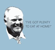 "Mayor Rob Ford- ""I've got enough to eat at home!"" (Black Lettering) T-Shirt"