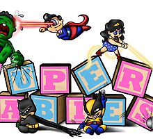 Superbabies! by Angelinalart