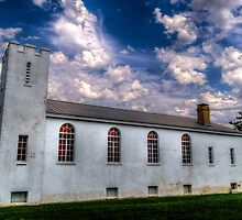 1890's Church @ Ft. Reno by Axiz