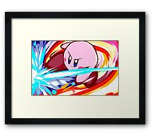 Kirby   Vulcan Kick Framed Print