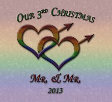 Third Christmas - Mr. and Mr. - Gay Pride by LiveLoudGraphic