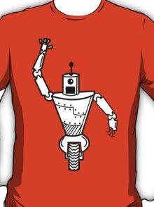 Robot on Wheels  T-Shirt