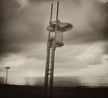 Beach Lifeguard Post. Barcelona by Salvador Calaf