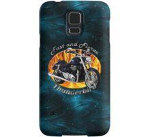 Triumph Thunderbird Fast and Fierce Samsung Galaxy Case/Skin