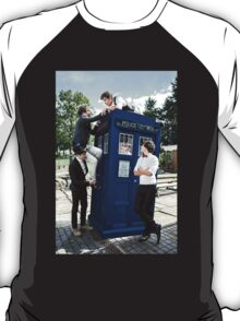 One Direction & The Tardis T-Shirt
