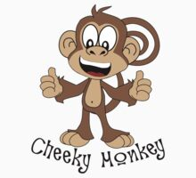 Cheeky Monkey by Funky-Designs