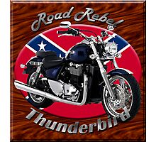 Triumph Thunderbird Road Rebel Photographic Print