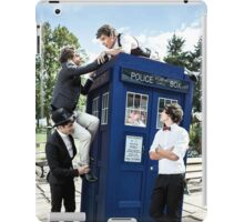 One Direction & The Tardis iPad Case/Skin
