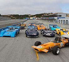 Mclarens of Laguna Seca by Braxen