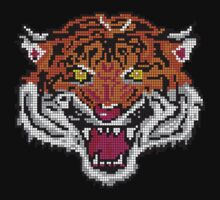 Pixel Tiger by Glo-go