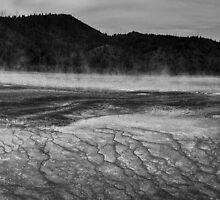 Yellowstone, Midway Geyser Basin by Gregory Dyer