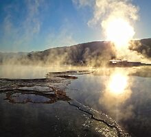 Yellowstone, Minerva Terrace, Mammoth Hot Springs by GregorDyer