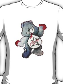 Zombie Bear has a one track mind T-Shirt