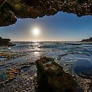 Coastal reflections by Adriano Carrideo