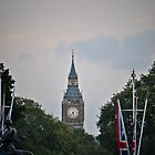 Big Ben from Buckingham Palace by Gustavo Bernal