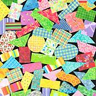 75 PIECES OF PAPER DECORATION by RainbowArt