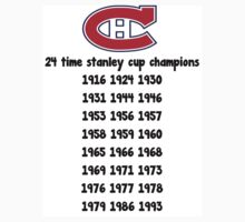 Montreal Canadiens t-shirt  by J C
