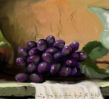 Table Grapes by Sandra  Aguirre