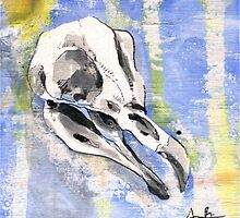 Penguin Skull by AaronBir
