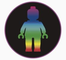 MINIFIG RAINBOW by Chillee Wilson from Customize My Minifig by ChilleeW