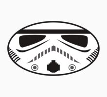 Stormtrooper Oval Sticker by ajh1138