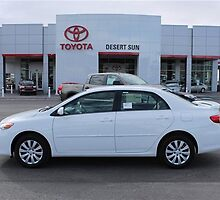 2014 Toyota Corolla by Brandon Burling