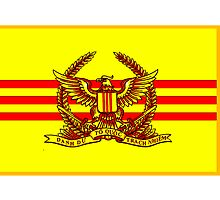 Flag of the South Vietnamese Army by boogeyman
