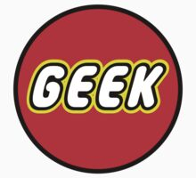 GEEK by Chillee Wilson from Customize My Minifig by ChilleeW