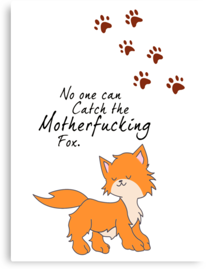 "Looking For Alaska - ""No One Can Catch the Motherfucking Fox"" John Green [Apparel & Sticker] by charsheee"