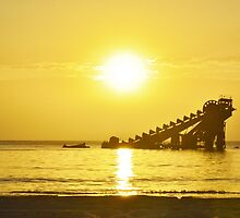 Tangalooma Sunset by Chriselle