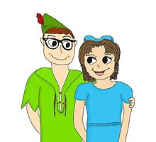Peter Pan and Wendy by ChandlerLasch