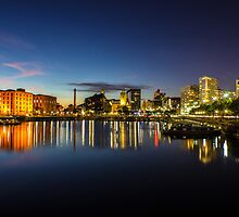 Salthouse Dock - Liverpool by Paul Madden