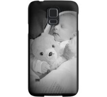 Fred has his new baby - he's a happy bear now Samsung Galaxy Case/Skin