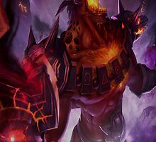 Infernal Nasus by LucePrice