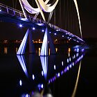 Inifinity Bridge Stockton On Tees UK by albyw