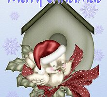 A Tweeting Christmas .. card by LoneAngel