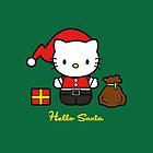 Hello Santa by Jonathan  Ladd
