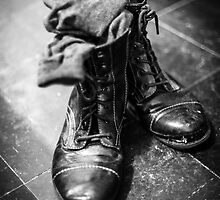 Boots and socks by Barry Robinson