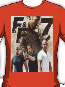 Special Series , Limited For Fast & Furious 7 Fans T-Shirt