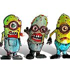 zombie minions by byronrempel
