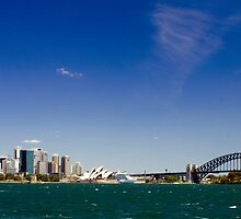 Sydney from a distance by NeilByrne