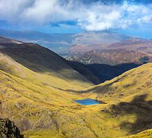 Scafell Pike - Cumbria - Lake District by Paul Madden