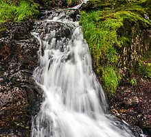 Snowdonia Waterfall by Paul Madden