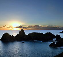 The Romance Of Kynance Cove, Cornwall by Mike Honour