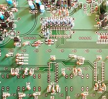 circuit board by studiojanney
