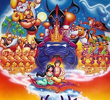Aladdin movie poster by emilyg23