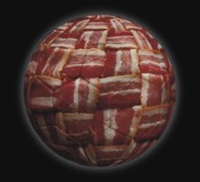 Bacon-Wrapped Football Soccer Ball 2 by graphix