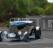 1932 Ford 'Black Widow' Roadster I by DaveKoontz
